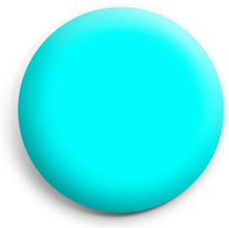 Cyan button badge