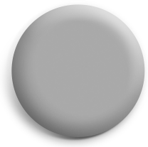Grey button badge