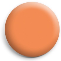 Orange button badge