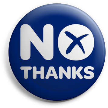 Scottish Independence No badge