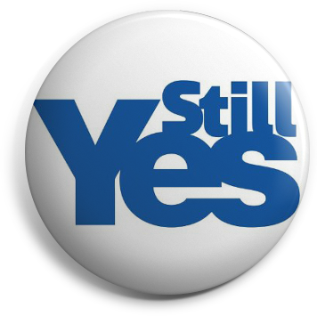 Still Yes button badge