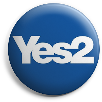 Yes2 button badge