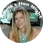 Hen-night badge